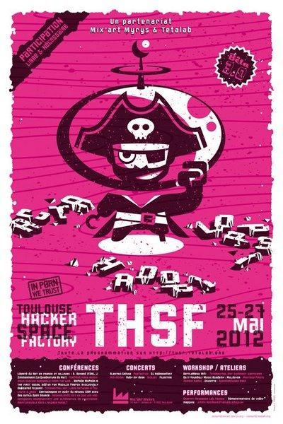 Affiche THSF 2012